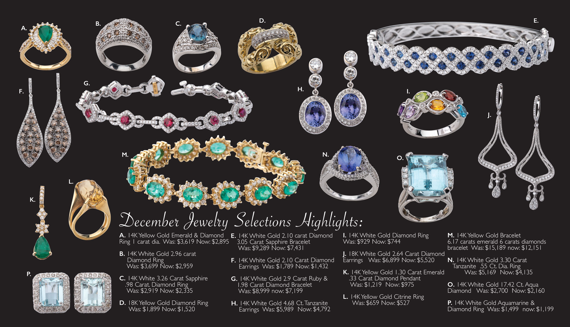 December Jewelry Sale Page 2