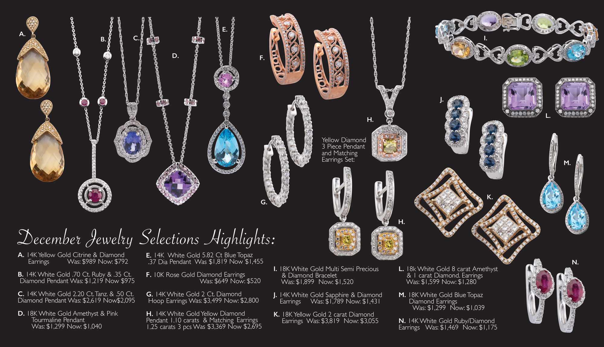 December Jewelry Sale Page 3