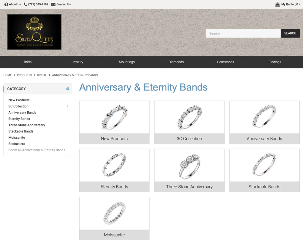 Eternity and Anniversary Bands