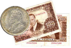 Foreign-Coins-Currency
