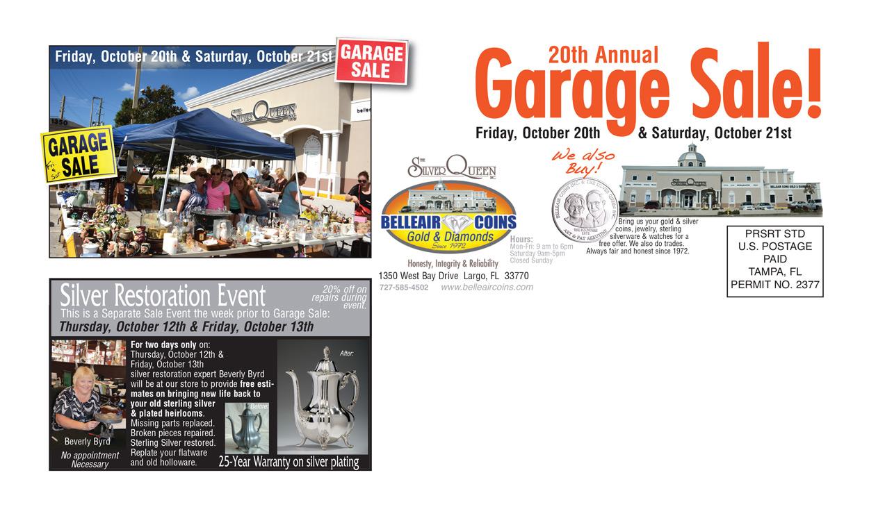 Annual Garage Sale 2017
