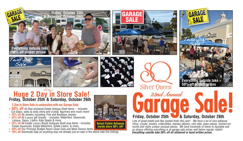 Garage Sale Page 1