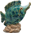 Gifts-Store-Photo-19-Blue-Fish-Statue