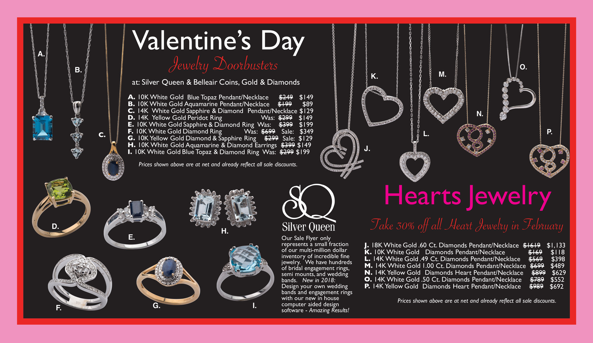 Valentines Day Jewelry year 2018 page 1