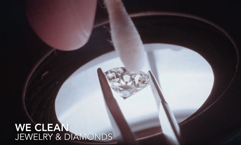 We Clean jewelry
