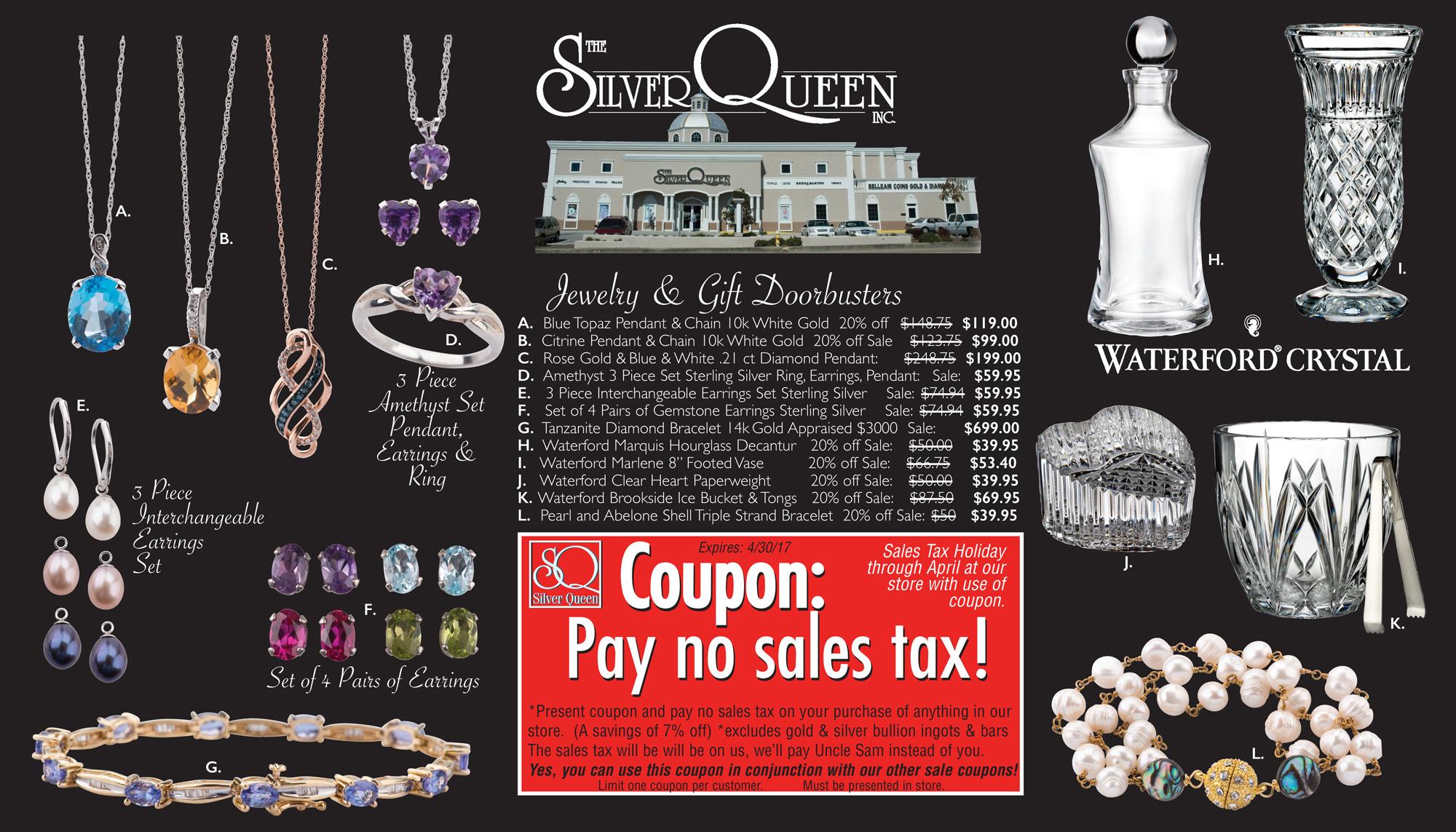 March April No Sales Tax Flyer 1
