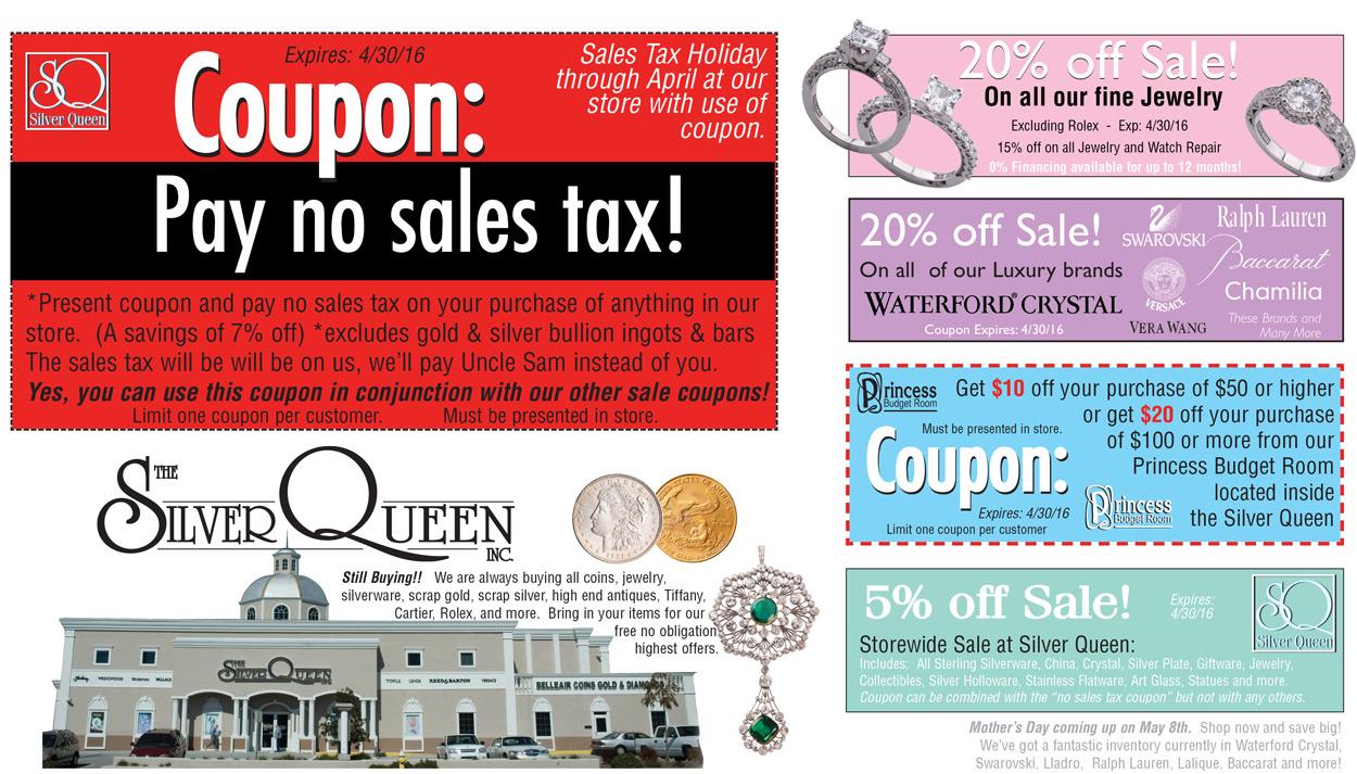 No Sales Tax Page 1