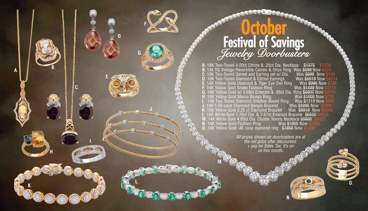 October Festival of Savings