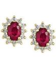 Ruby-Earrings