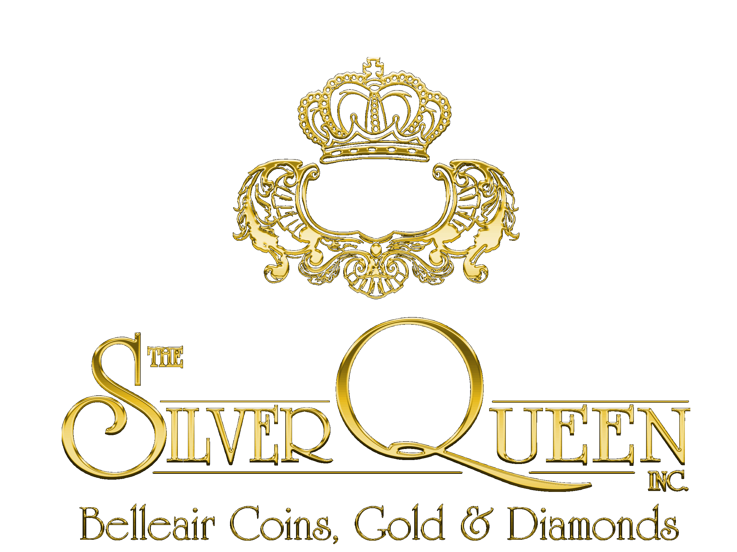 Silver Queen Logo Gold