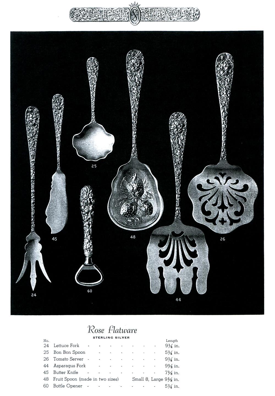 Stieff Rose Catalog Page