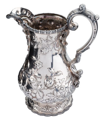 Tiffany Water Pitcher