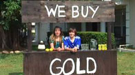We buy gold lemonade