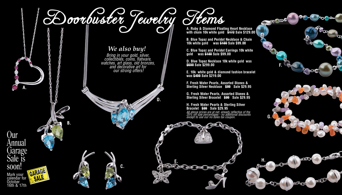 Christmas in August Jewelry Sale 2015 Page 3