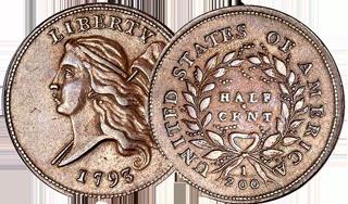 half Cent Liberty Cap