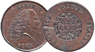 Large Penny with Chain