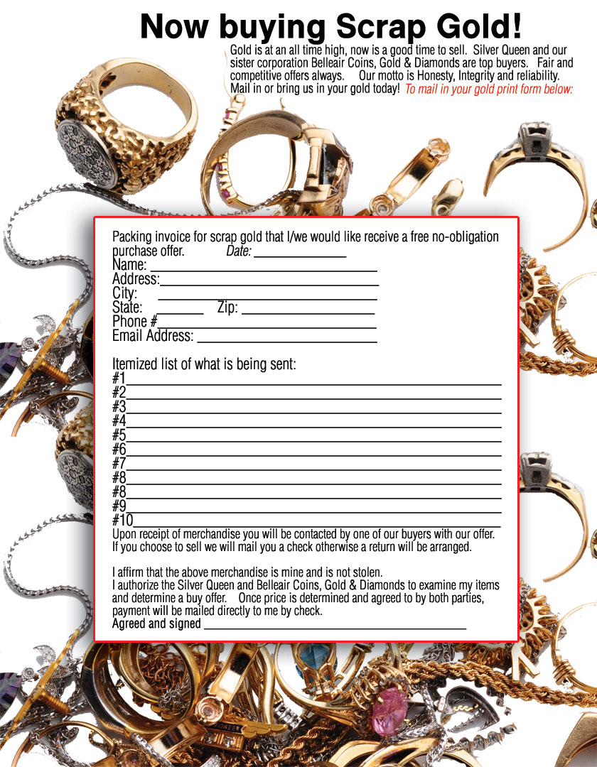 Gold Buying Form