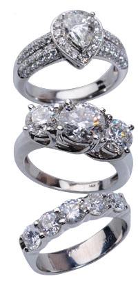 Diamonds 3 stones