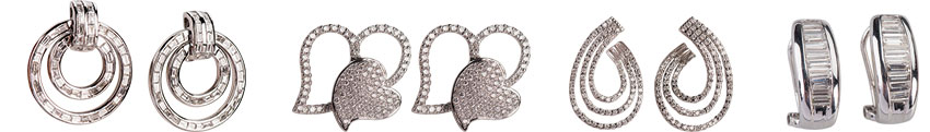 Earrings at Belleair Coins, Gold and Diamonds