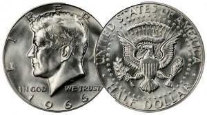 40% Silver Clad Half Dollar Coin