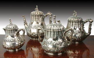 Sell your high end silver hollowware and tea sets