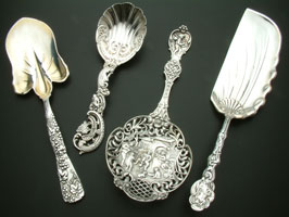 Sell Tiffany Sterling Silverware and Flatware