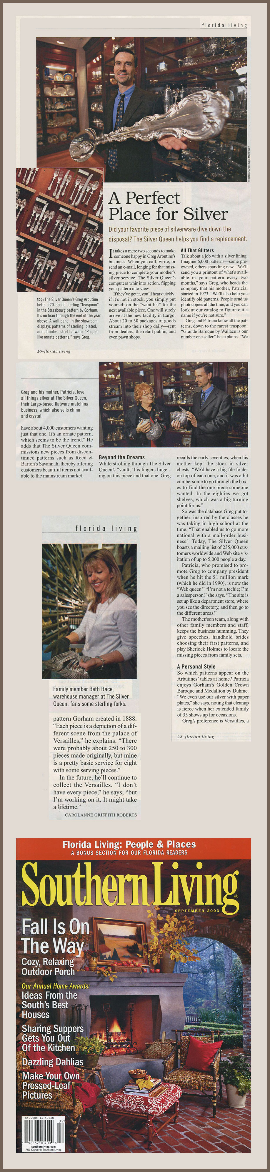 Southern Living 2003