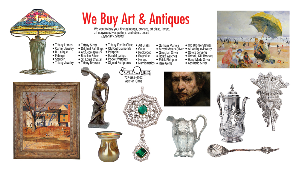 We buy art