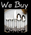 We buy silverware