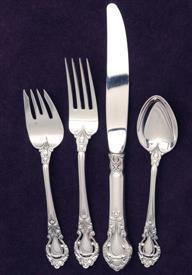 """Belle Auberge by Kirk Sterling Silver Regular Fork 7 1//2/"""""""