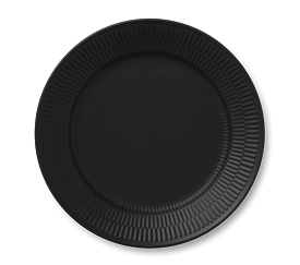 Picture of BLACK FLUTED CHINA by Royal Copenhagen