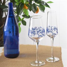 Picture of BLUE ITALIAN GLASSWARE by Spode