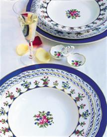 Picture of CHATEAUBRIAND-BLUE by Bernardaud