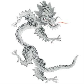 Picture of MING DRAGON BLACK by MEISSEN