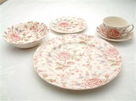 Picture of ROSE CHINTZ-PINK by Johnson Brothers