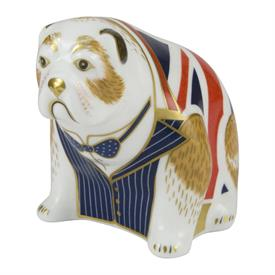 -WINSTON CHURCHILL BULLDOG PAPERWEIGHT