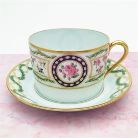 ,TEA CUP & SAUCER, CAN SHAPE