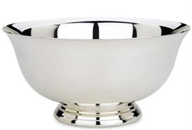 """-102 5.25"""" PAUL REVERE BOWL. SILVERPLATE. TARNISH RESISTANT. BREAKAGE REPLACEMENT AVAILABLE."""
