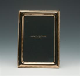 """_4X6"""" GOLD PLATED PEARLS FRAME"""