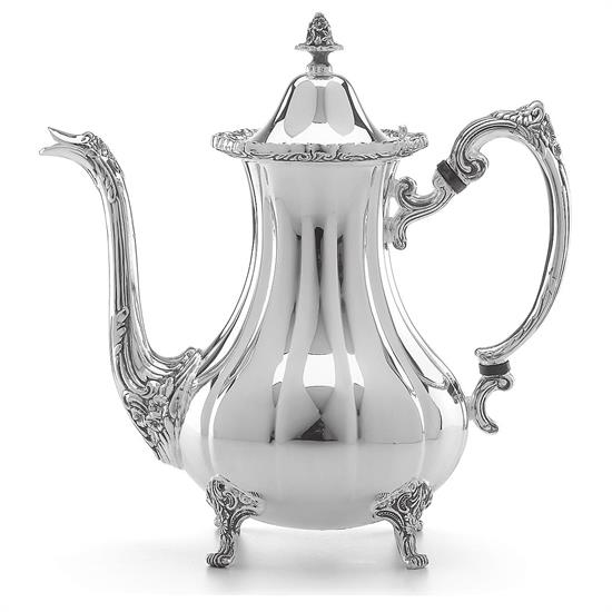 COFFEE POT SILVER PLATED