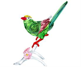 "-,GREEN MAGPIE. 6.5"" TALL, 4.6"" LONG, 4"" WIDE"