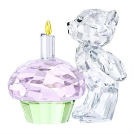 """,-KRIS BEAR, TIME TO CELEBRATE. COMMEMORATE KRIS BEAR'S 25TH ANNIVERSARY! 1.6"""" TALL, 1.6"""" LONG, 1.2"""" WIDE"""