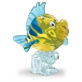 """-,'THE LITTLE MERMAID' - FLOUNDER. 2.2"""" TALL, 2.2"""" WIDE, 1.8"""" LONG"""