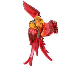 "_,RED PARROTS 9.45"" TALL"