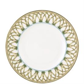 "-9"" BAMBOO ACCENT SALAD PLATE. MSRP $29.00"