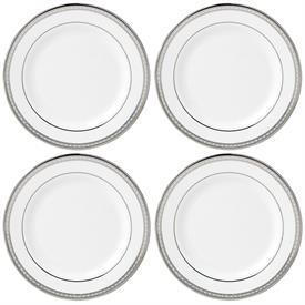 -4 PIECE TIDBIT PLATE SET. MSRP $100.00