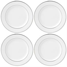 -4 PIECE TIDBIT PLATE SET. MSRP $86.00