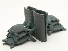 -50561 TURTLE BOOKENDS
