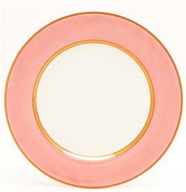 ",PEACH DINNER PLATE 10 3/8"""