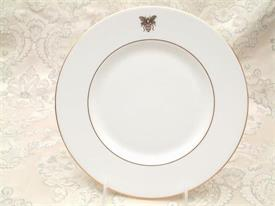 "_,GOLD BEE ACCENT SALAD PLATE. 9"" DIAMETER. MSRP $37.25"